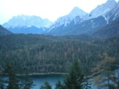The Zugspitze and the Blindsee