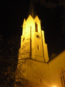 "The ""Maria Himmelfahrt"" (Mary's Ascension) church in Patenkirchen"