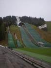 The Garmisch-Patenkirchen olympic ski jump