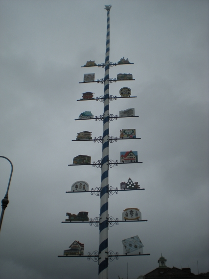 Of course there was a maypole... it is Bavaria after all!