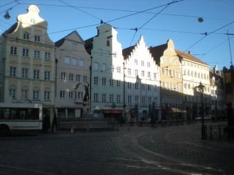 Typically German buildings