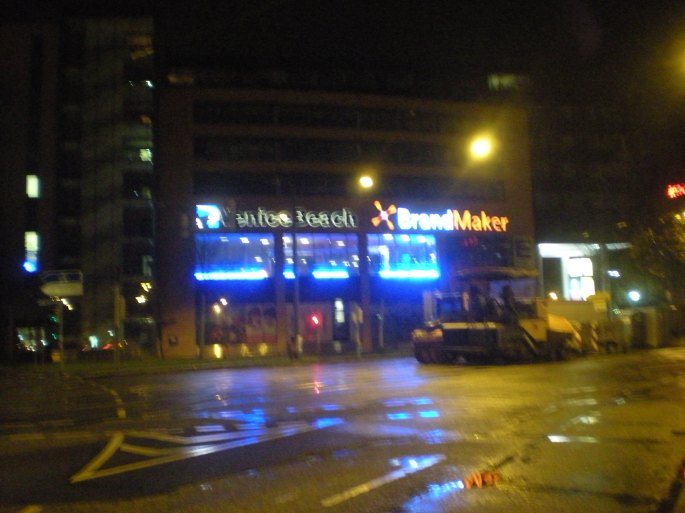 Karlsruhe night time