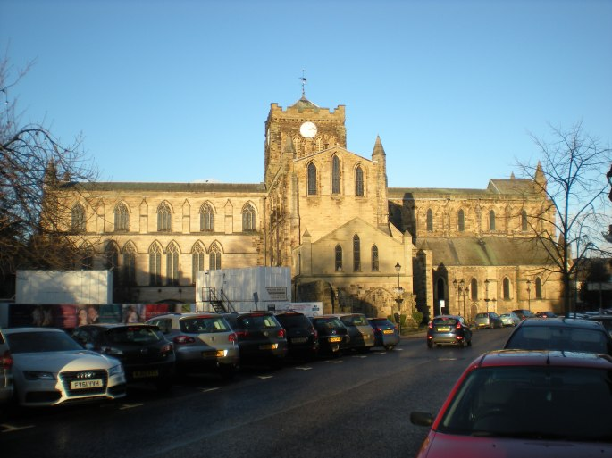 The abbey from the outside