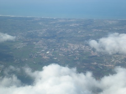 Somewhere over Portugal