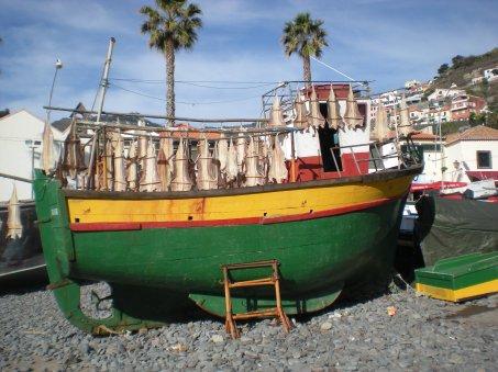 Madeira fish boat