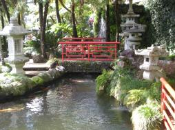 "The ""Oriental Garden"" area of the tropical gardens"