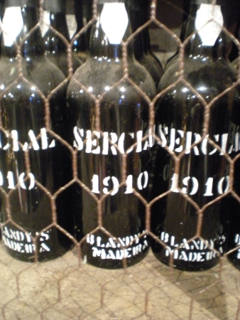 Blandy's was founded in 1811, but these were the oldest bottles I found