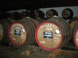 Madeira wine casks