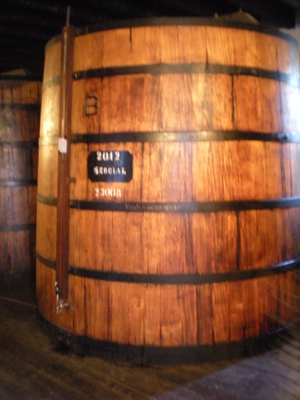 "Of course I took a photo of the ""B"" barrel (sadly a horribly blurry one...)"
