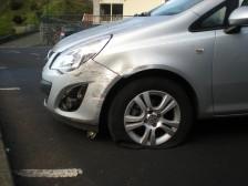 Poor car...