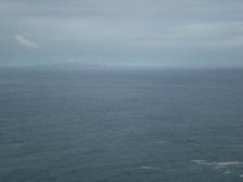 Somewhwre back there is Porto Santo...