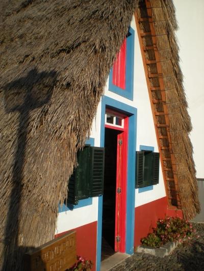 A replica traditional Portuguese building in Santana