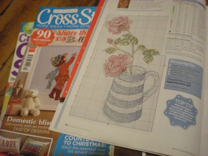 Cross stitch magazines
