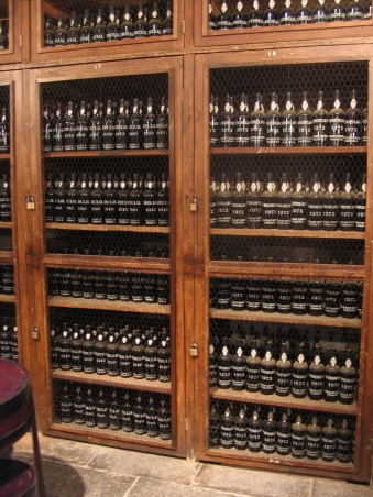 Lots of lovely Madeira wine (photo by Jan)
