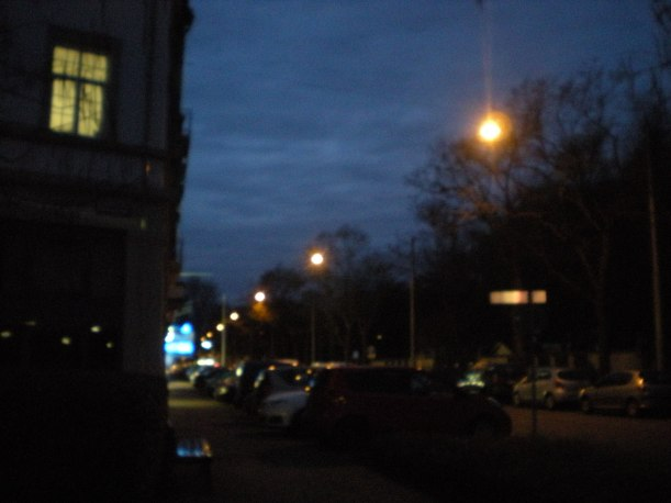 Early morning in Karlsruhe