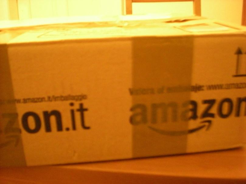 Reusing an Amazon box...