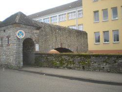 Part of the old town wall
