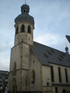 Bruchsal church