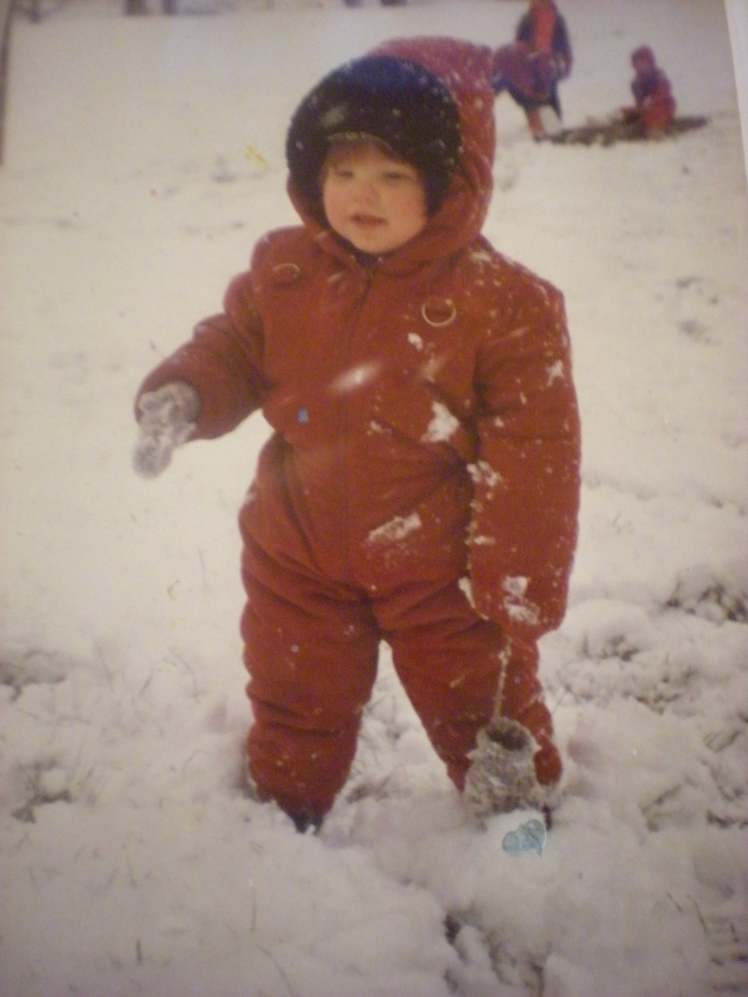 First time in snow (probably)