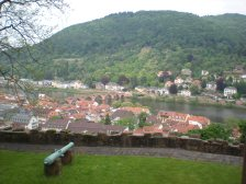 Heidelberg viewed from the castle