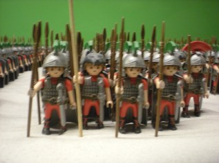 Playmobil soldiors