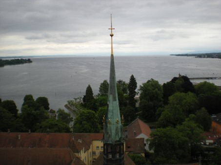 Lake Constance from above