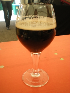 Hoepfner beer at Burgfest 2014