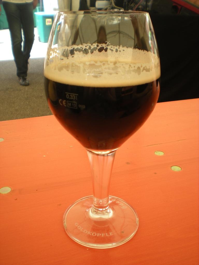 Hoepfner beer at Burgfest 2014