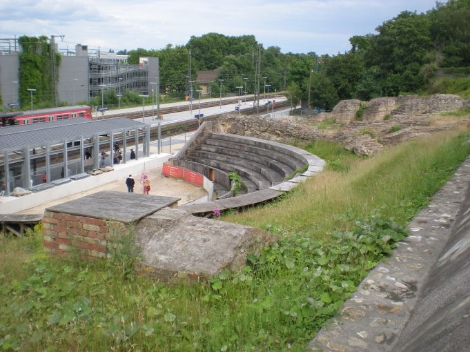 Römisches Theater from above