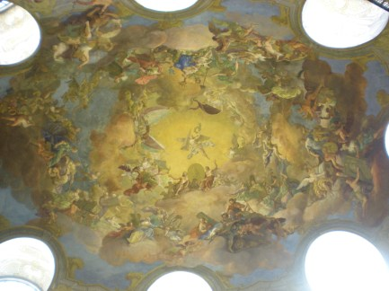 Prunksaal ceiling