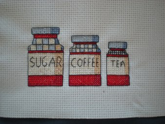 Sugar, coffee, tea