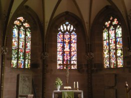 Inside the Lady Chapel