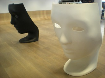 These chairs were in the lobby of the Film Museum - I found them interesting!