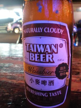 Taiwanese wheat beer