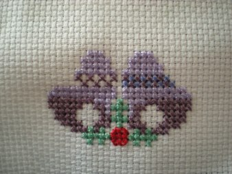 cross stitch bells