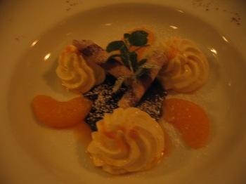 Delicious dessert at Zum kleinen Ketterer