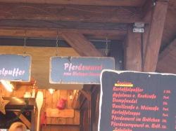Pferdewurst! (=horsemeat sausage)