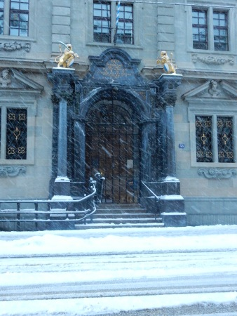 Rathaus entrance