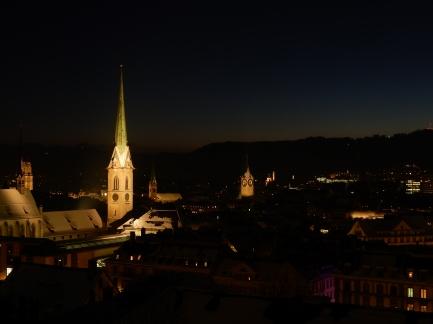 Zurich viewed from near the university