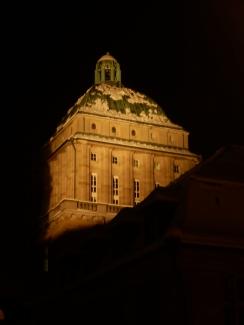 Part of a university building