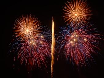Zürich fireworks show