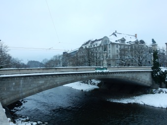 Bridge over the Sihl
