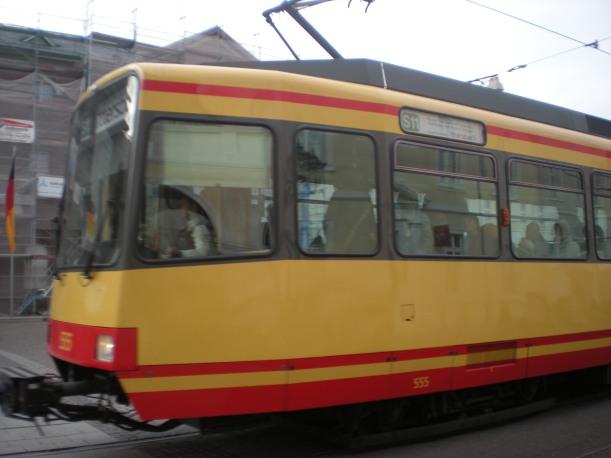 A Karlsruhe S-Bahn