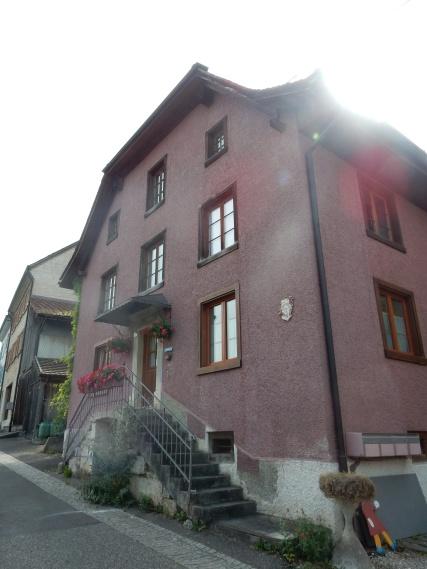 A pretty building in Flüh