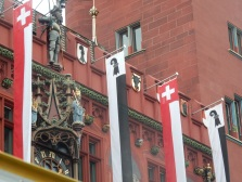 Flags on the town hall