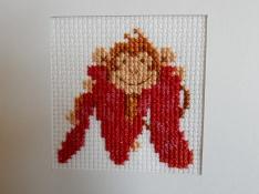 M is for monkey cross stitch