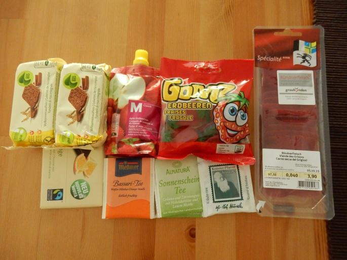 Swiss parcel
