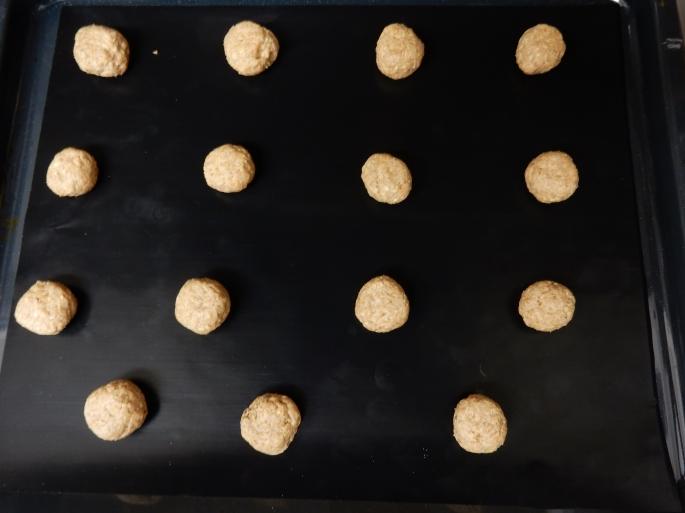 Not meatballs, honest!