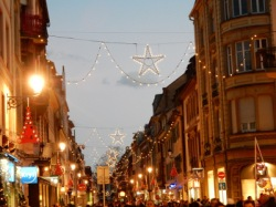 Colmar Christmas lights