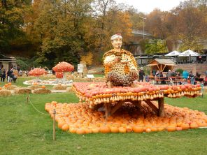 Pumpkin magic carpet
